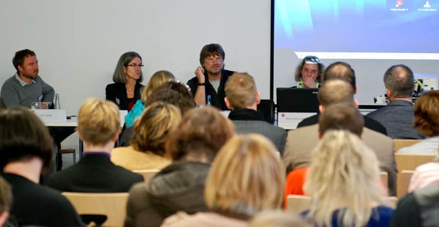 Wie können Kinder eingebunden werden? Thema des zweiten Workshops. Foto: Gerd Metzner