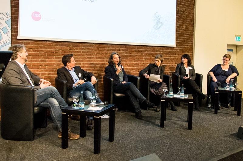 von links: Roland Rosenstock, Roland Lehmann, Birgit Guth, Anna Hoff, Sigrun Kaiser und Katja Reszel Foto: Gerd Metzner